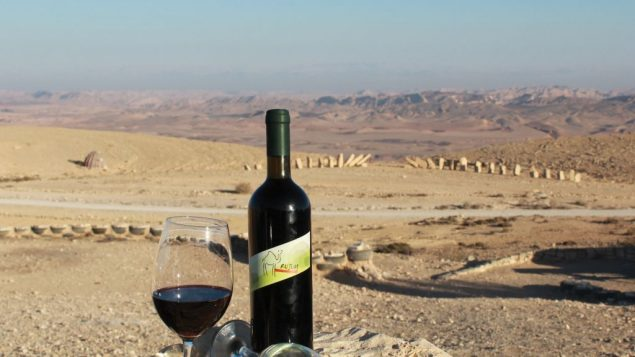 Rajum Winery offers desert-grown grapes and kosher supervision from outside the Rabbinate. Photo courtesy Rajum Winery