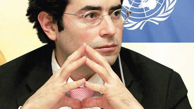 Hillel Neuer: On the lookout for anti-Israei bias at UN. Photo courtesy UN Watch
