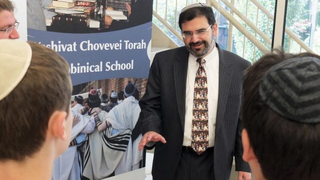 """""""Open Orthodoxy:"""" Lopatin on the YCT campus. Michael Datikash"""