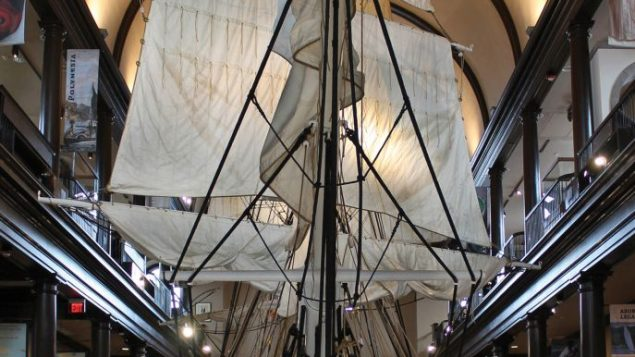 This replica of the Lagoda, a 19th-century whaling ship, is the largest anywhere. Photo courtesy New Bedford Whaling Museum