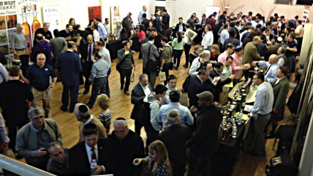 The scene at last week's Whisky Jewbilee at the West side Jewish Center. Photo courtesy Joshua Hatton