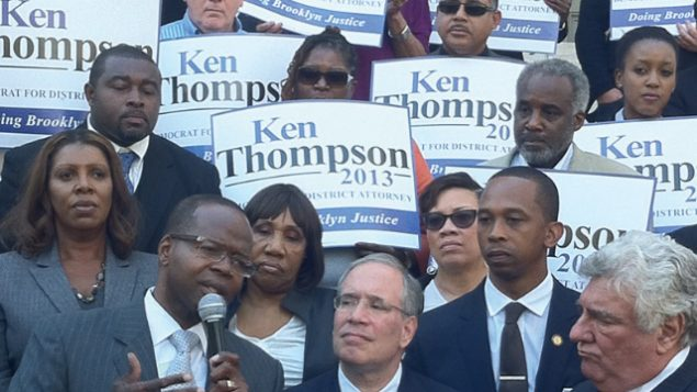 Ken Thompson, left, wants an opportunity to review controversial case of Baruch Lebovits. Via Kenthompson4da.com