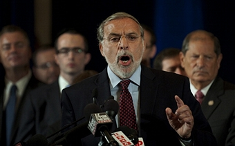 Assemblyman Dov Hikind said police should arrest, not just educate, youth who perpetrate street attacks. Getty Images