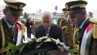 Palestinian official Tayeb Abdel Rahim at ceremony exhuming Arafat's body in Nov., 2012. PPO via Getty Images