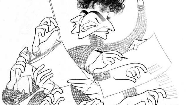 Leonard Bernstein, date unknown. Photo courtesy the Al Hirschfeld Foundation