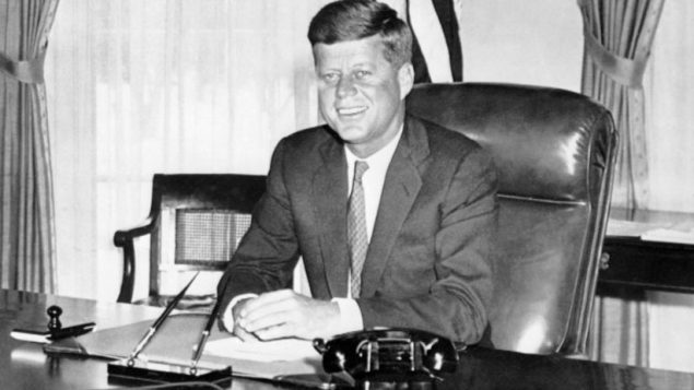 In his brief presidency, John F. Kennedy reversed the Eisenhower's indifference to Israel. Getty Images