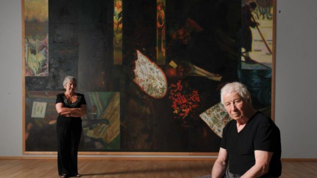 Emilia and Ilya Kabakov in scene from a new documentary about the artists' lives and works. Jacques De Melo/Gert Liter