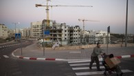 A housing construction site in an East Jerusalem neighborhood, October 27, 2013. (photo credit: Yonatan Sindel/Flash90)