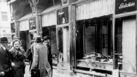 Kristallnacht destruction in Magdeburg (photo credit: German Federal Archive / Wikipedia Commons)