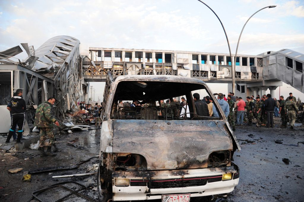 Twin bombing in Damascus leaves 40 dead