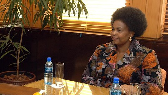 South African International Relations Minister Maite Nkoana-Mashabane. (US Department of State/Wikimedia Commons)