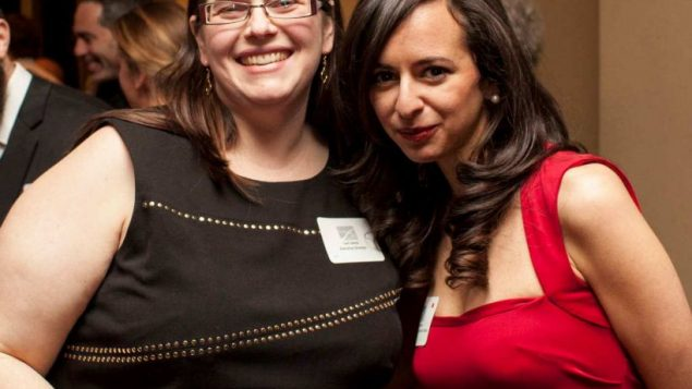 Lani Santo and Leah Vincent at Footsteps' 10th anniversary event. Natalie Keyssar