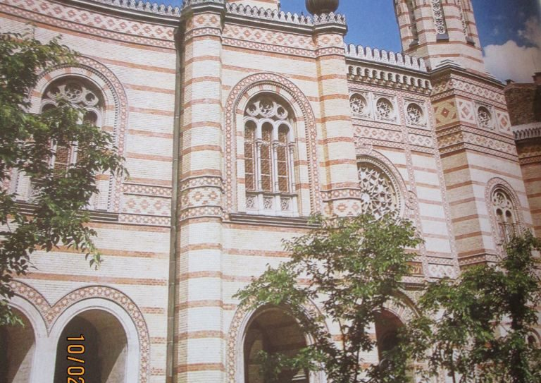 The exterior of the majestic Great Synagogue on Dohany Street. Linda Tucker