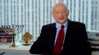 Ed Koch, seen here in a video supporting Barack Obama, supported menorahs in public places.