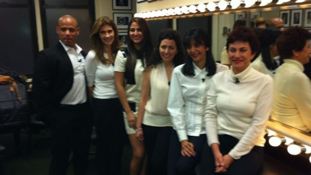 """Cast of """"Saffron and Rosewater."""" Photo courtesy Jewish Women's Theater"""