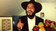 Fruits of his labors: Ari Lesser's clever and pointed YouTube song has received more than 140,000 hits.