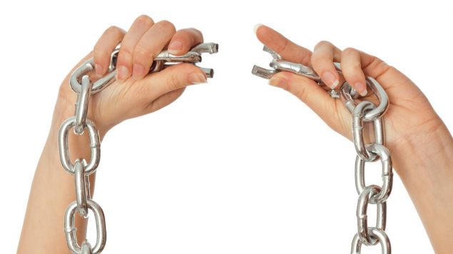 For many agunot, halachic prenups won't break their chains. Shutterstock