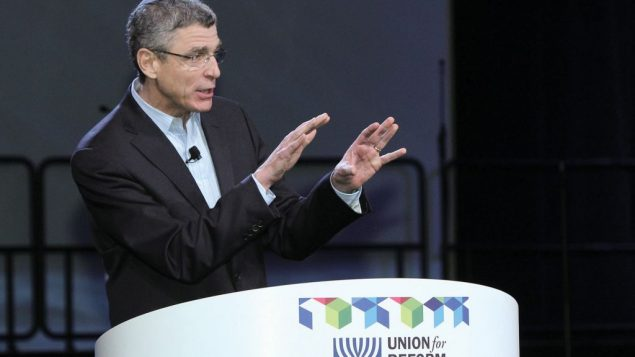 Rabbi Rick Jacobs, the president of the Union for Reform Judaism.