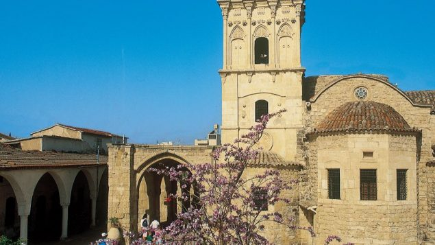 An Old Town square in Larnaca. Photo courtesy Cyprus Tourism Organization