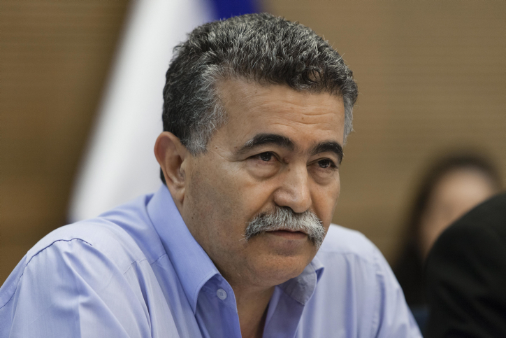 Environmental Protection Minister Amir Peretz (photo credit: Flash90)