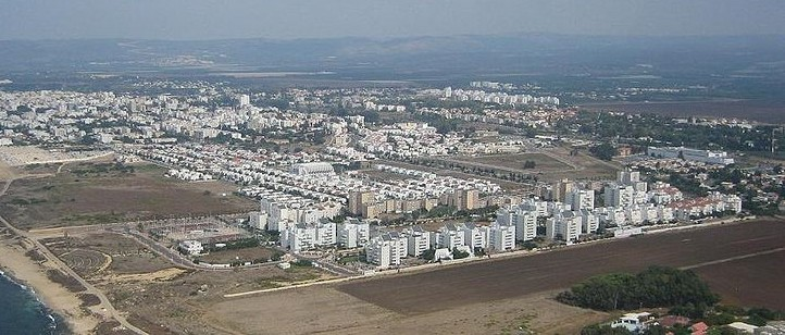 The northern coastal town of Nahariya in 2006 (photo credit: Wikimedia Commons Public Domain)