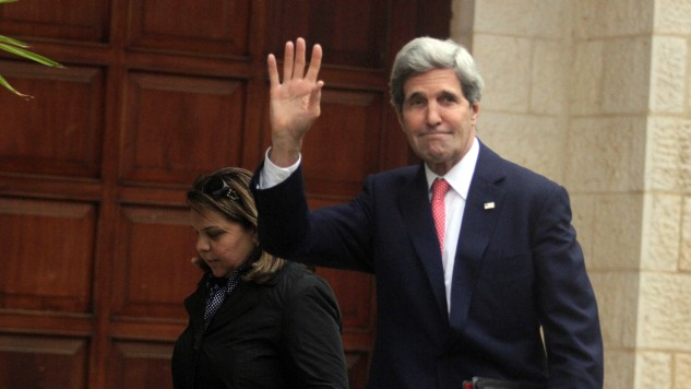 Palestinians said to reject Kerry layout for peace plan