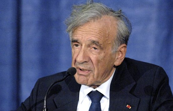 """Elie Wiesel: 'Regimes rooted in brutality must never be trusted.""""   Boston University"""