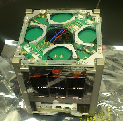 The Duchifat cubesat (Photo credit: Courtesy)