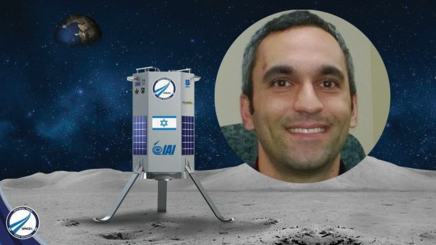 "Daniel Saat: A moon landing by an Israeli spacecraft will put Israel in ""a very exclusive club of superpower nations."""