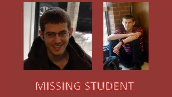 A post on Facebook urges the public to help in the search for Caleb Jacoby (photo credit: courtesy)