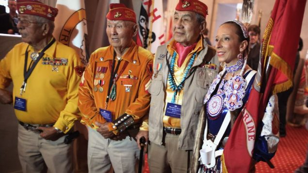 Members of Native American tribes pose for photos at the White House Tribal Nations Conference in 2012. Getty Images