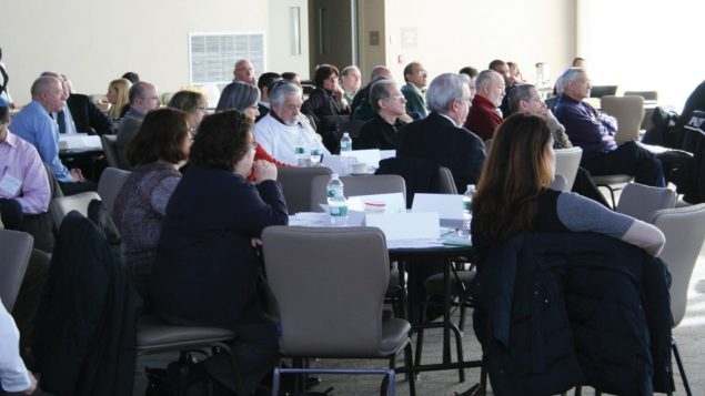 A security workshop sponsored by the council. Photo courtesy Westchester Jewish Council