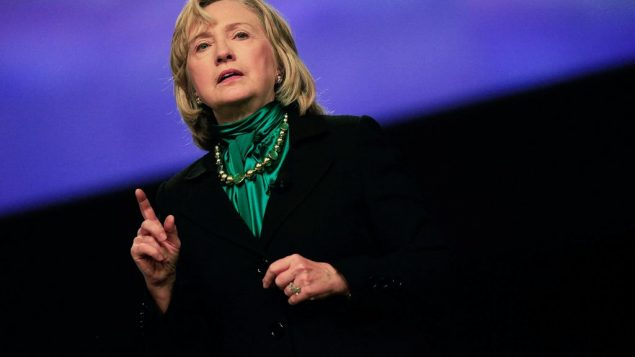 Hillary Clinton: Gearing up for 2016? Getty Images