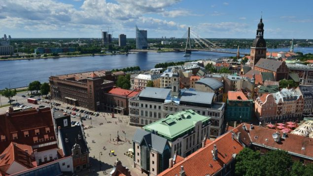 Scenic Riga is a European Union Capital of Culture this year and a UNESCO World Heritage Site.  Kaspars Garda