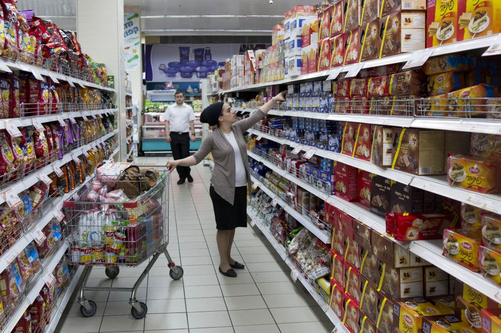 Food Prices In Israel 25 Higher Than In Europe The