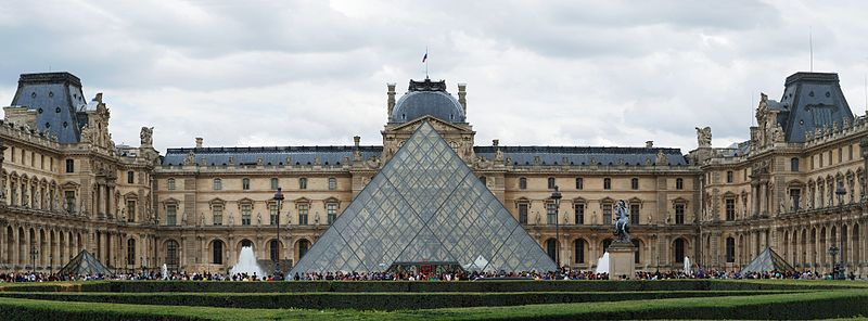 The Louvre (photo credit: Alvesgaspar/Wikipedia)