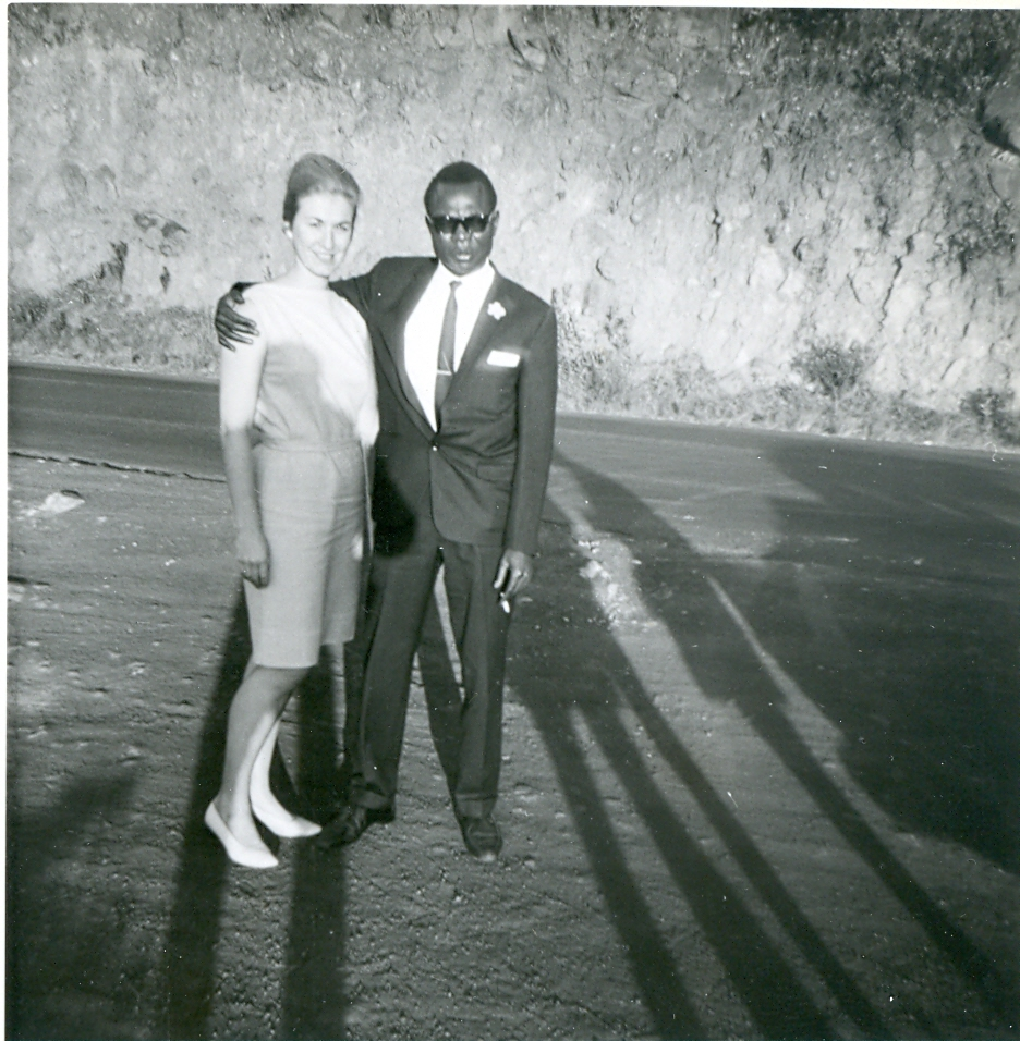 Ruth Baker Ndesandjo and her former husband, Hussein Obama  (Courtesy Mark Okoth Obama Ndesandjo)