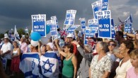 A Pro-Israel rally in London 4.