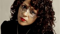 Anisa Ashkar, an Israeli-Arab from Jerusalem, paints her face with Arabic letters, an outward show of her identity. Artis