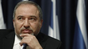 Foreign Minister Avigdor Liberman (Photo credit: Miriam Alster/FLASH90)