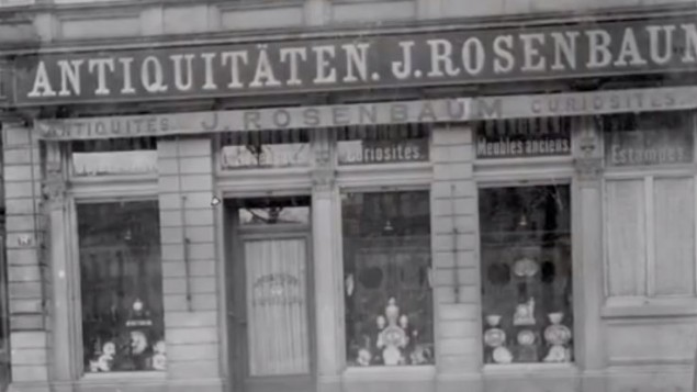 Frankfurt gallery of Guelph treasure dealers Rosenbaum and Rosenberg. (photo credit: YouTube screenshot)