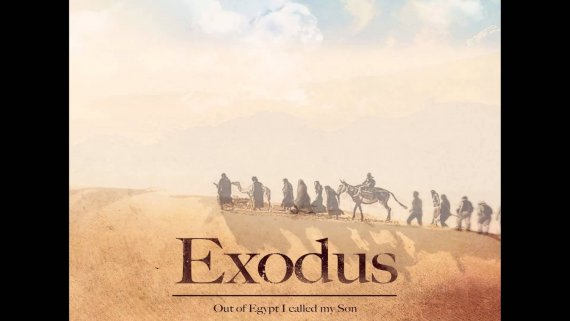 "The promotional poster for Sir Ridley Scott's ""Exodus."" (photo credit: Wikimedia)"