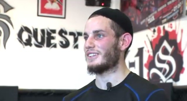 Rabbi Yossi Eilfort trains in martial arts to promote fitness, safety among Orthodox Jews. (screen capture, YouTube)