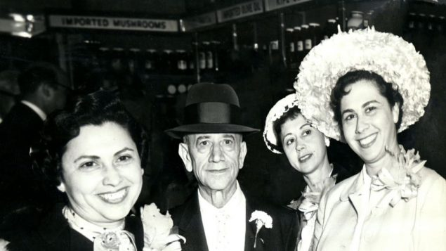 Founder Joel Russ with his three daughters. Photo courtesy the Russ Family
