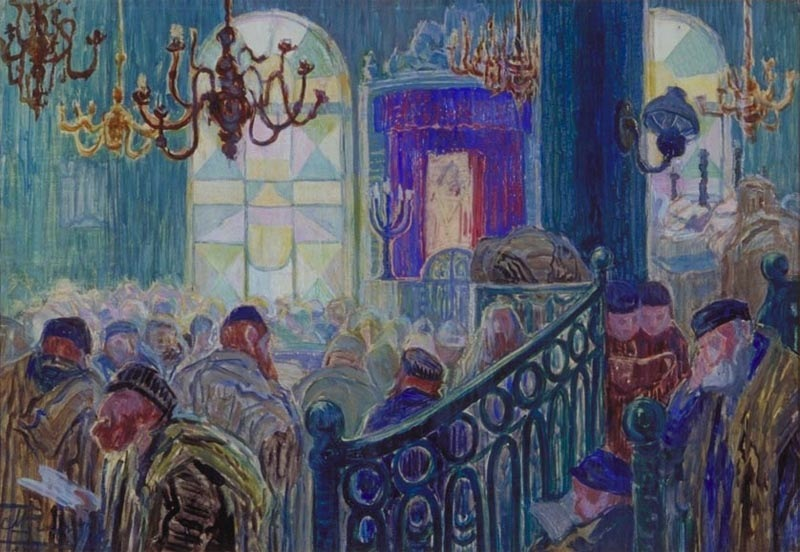 The quest for paintings from a lost Jewish world | The ...