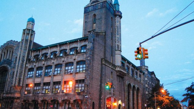 The RIETS seminary building on the Yeshiva University campus in Washington Heights. Wikimedia Commons