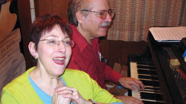 Helene Williams and Leonard Lehrman play all the roles in spy spoof at the Medicine Show Theatre.