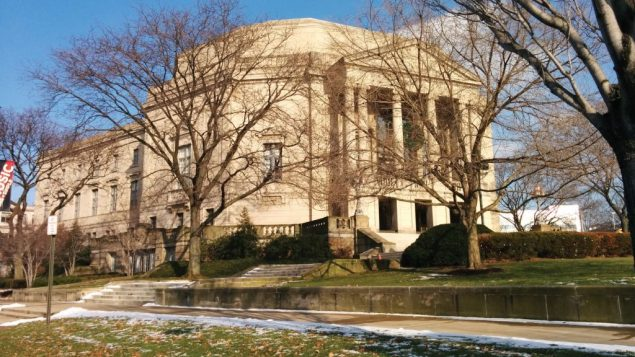 Severance Hall, home of the Cleveland Orchestra. Amy Larson