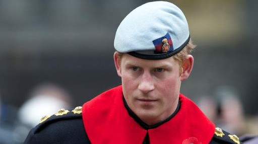 Prince Harry (photo credit: AFP/Andrew Cowie)