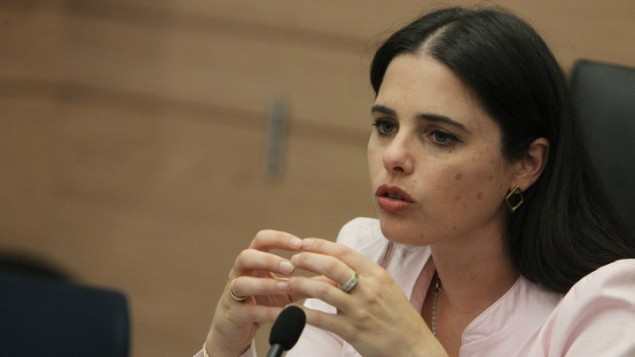 Ayelet Shaked le 11 mars 2013 (Crédit photo: Miriam Alster/Flash90)